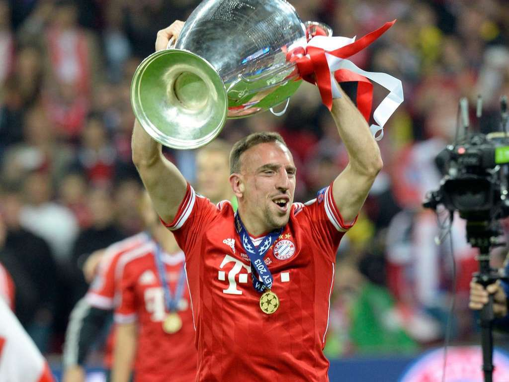Happy Birthday to Ballon d Or, Europe s player and treble winner of the year 2013, Franck Ribéry!