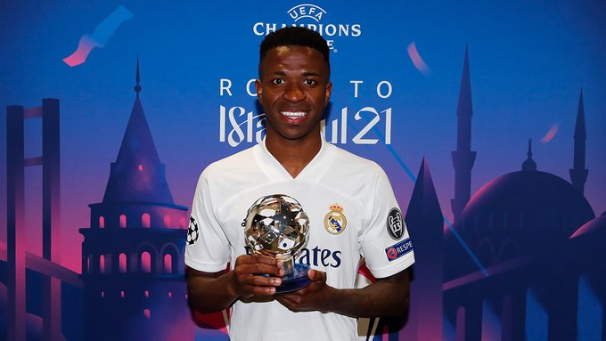 Vinicius Junior jadi man of the match
