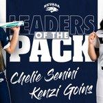 Image for the Tweet beginning: Chelie Senini and Kenzi Goins