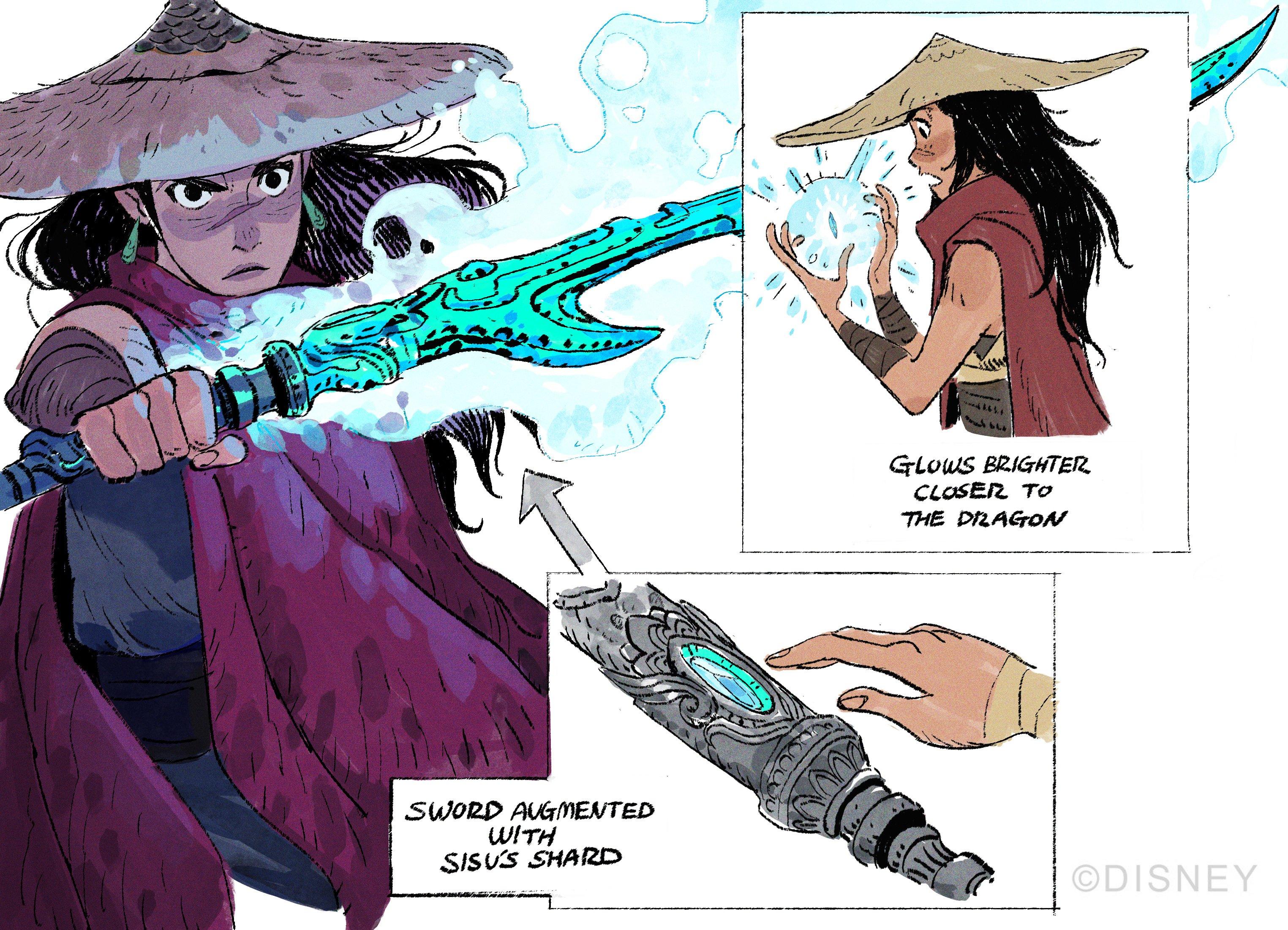 Raya et le Dernier Dragon [Walt Disney - 2021] - Page 21 EyVDLDuUUAIzGWw?format=jpg&name=4096x4096