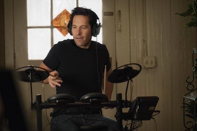 Happy birthday to the funniest avenger and the world s greatest grandma paul rudd aka ant-man!!