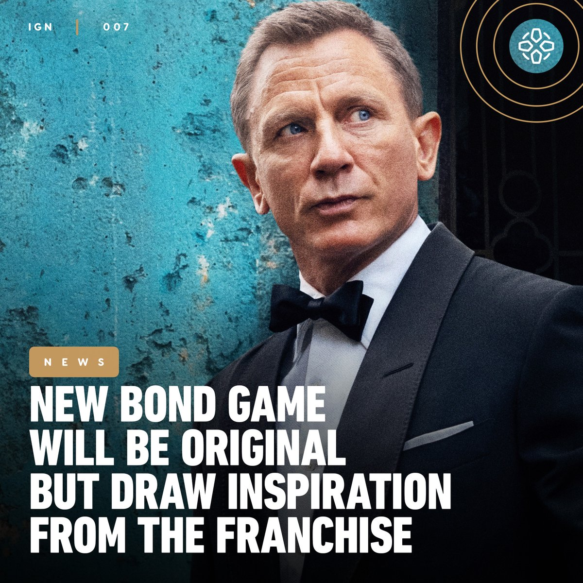 @IGN's photo on James Bond