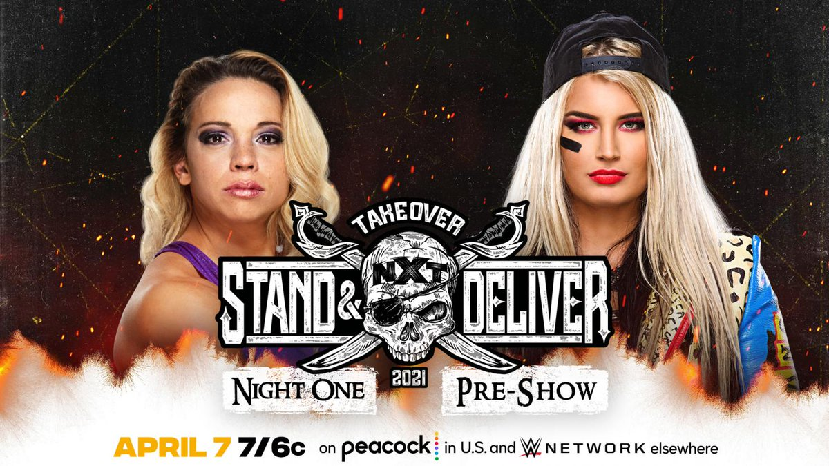 """Pre-Show For """"TakeOver: Stand & Deliver"""" Night One"""