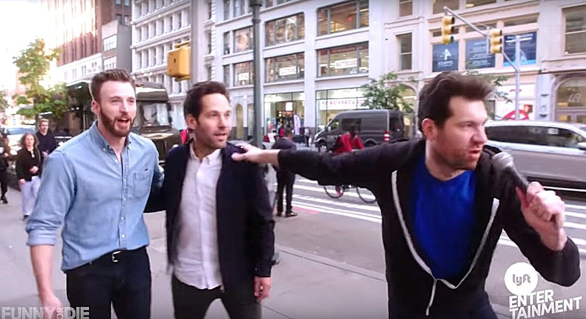 RT @billyeichner: Happy Birthday Paul Rudd!!! No idea who that other guy is. https://t.co/nhYo90Kglj