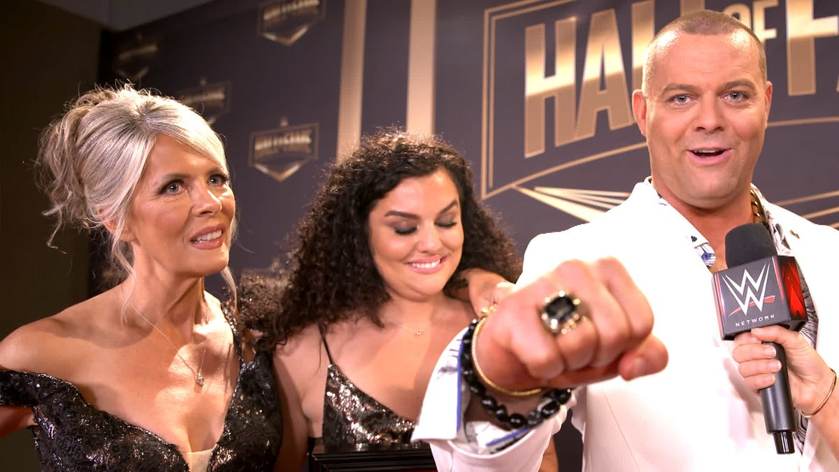 @WWENetwork's photo on #WWEHOF