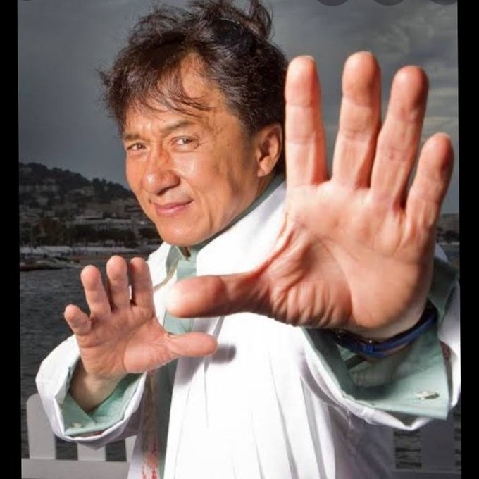 My real hero happy birthday Jackie chan sir