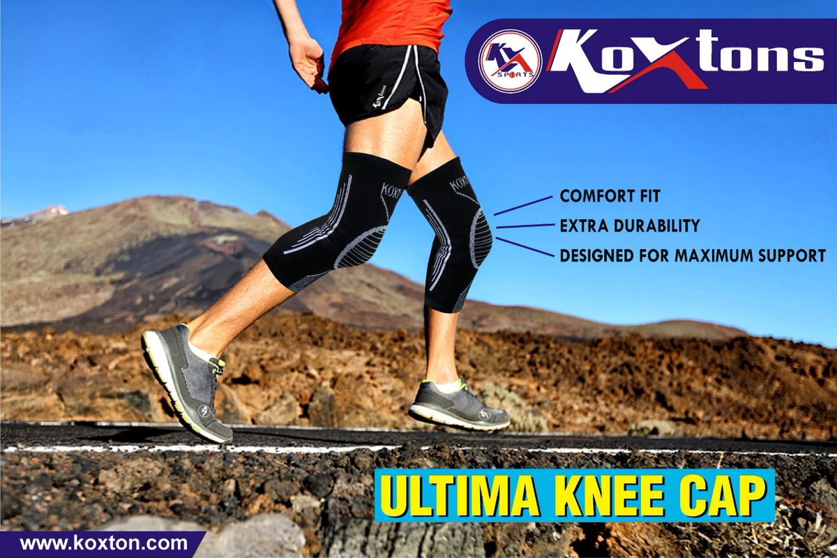 Our Ultima Knee Cap provides all the comfort and support you need while running, cycling, playing sport, at the gym and more. For more Visit https://t.co/lMNXHnQaNt or DM on 9068811125 #kneecap #kneesupporter #sportswear #fitnesswear #fitness #koxtons #KoxtonSports https://t.co/I4WjLBWbPq
