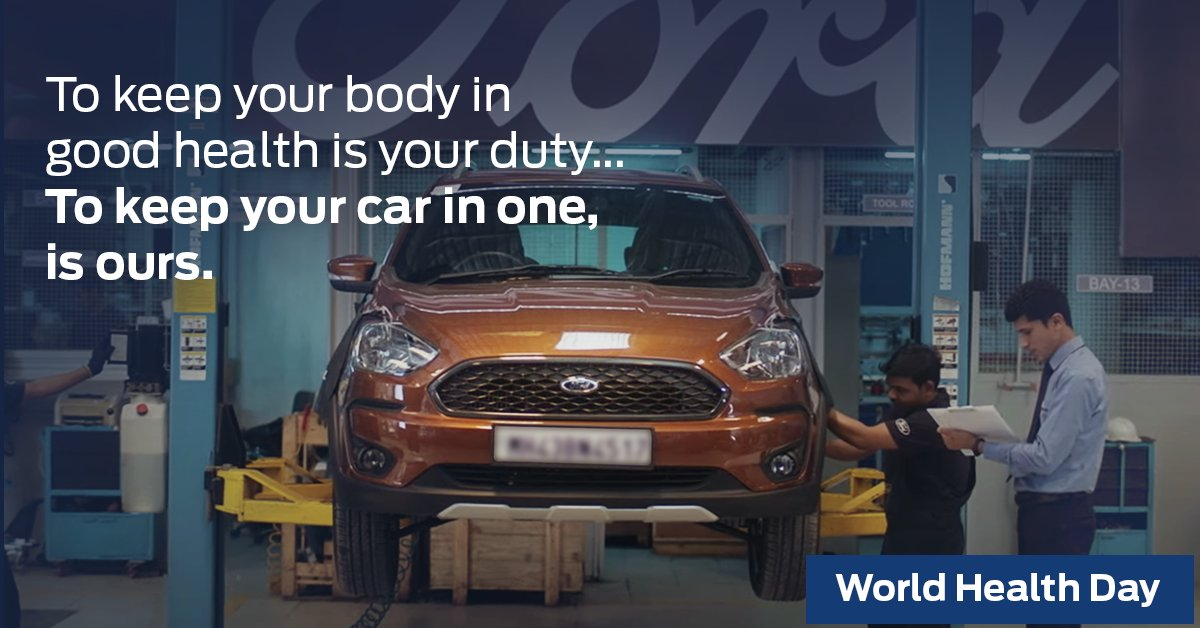 We understand the importance of good car health. WorldHealthDay https t.co TTmcYDyTWp