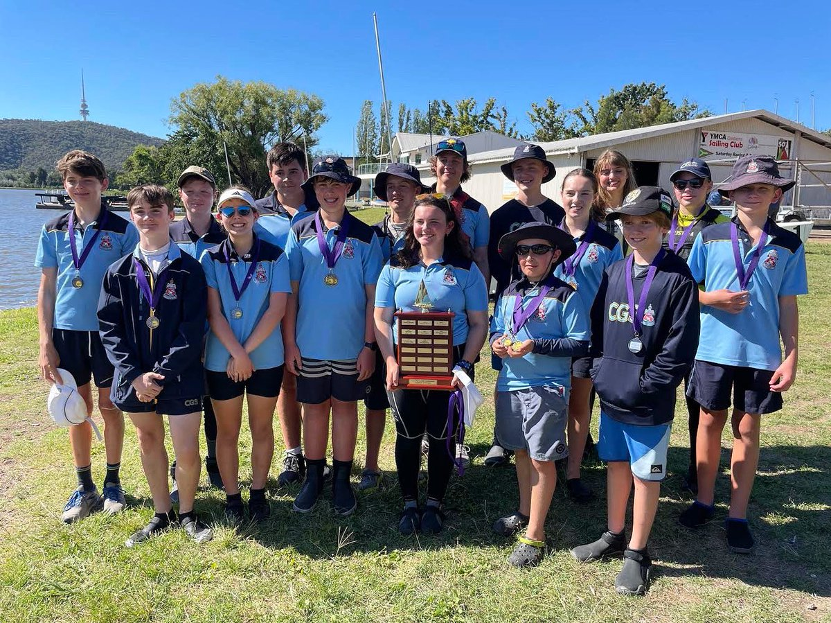 Ahoy mateys! Congratulations to the two CGS Sailing teams who recently competed at the ACT Teams Racing Championships, taking out 1st and 2nd in the Schools division.   Well done to everyone involved in CGS Sailing and good luck at the National Championships later this year!