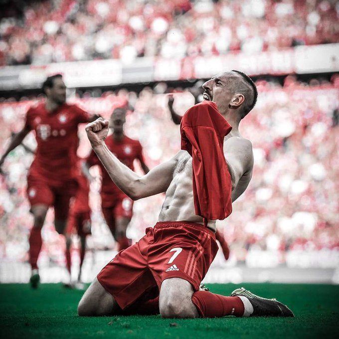 Happy Birthday Franck Ribéry  .