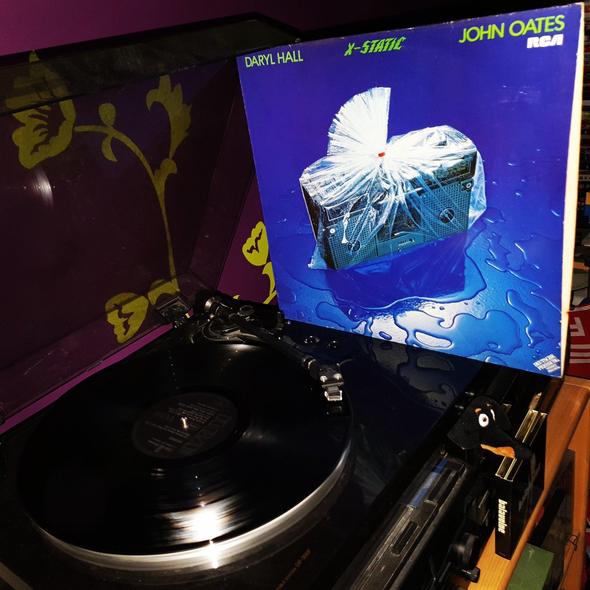 Happy Birthday John Oates *72*! Daryl Hall & John Oates - X-Static  (RCA/1980)