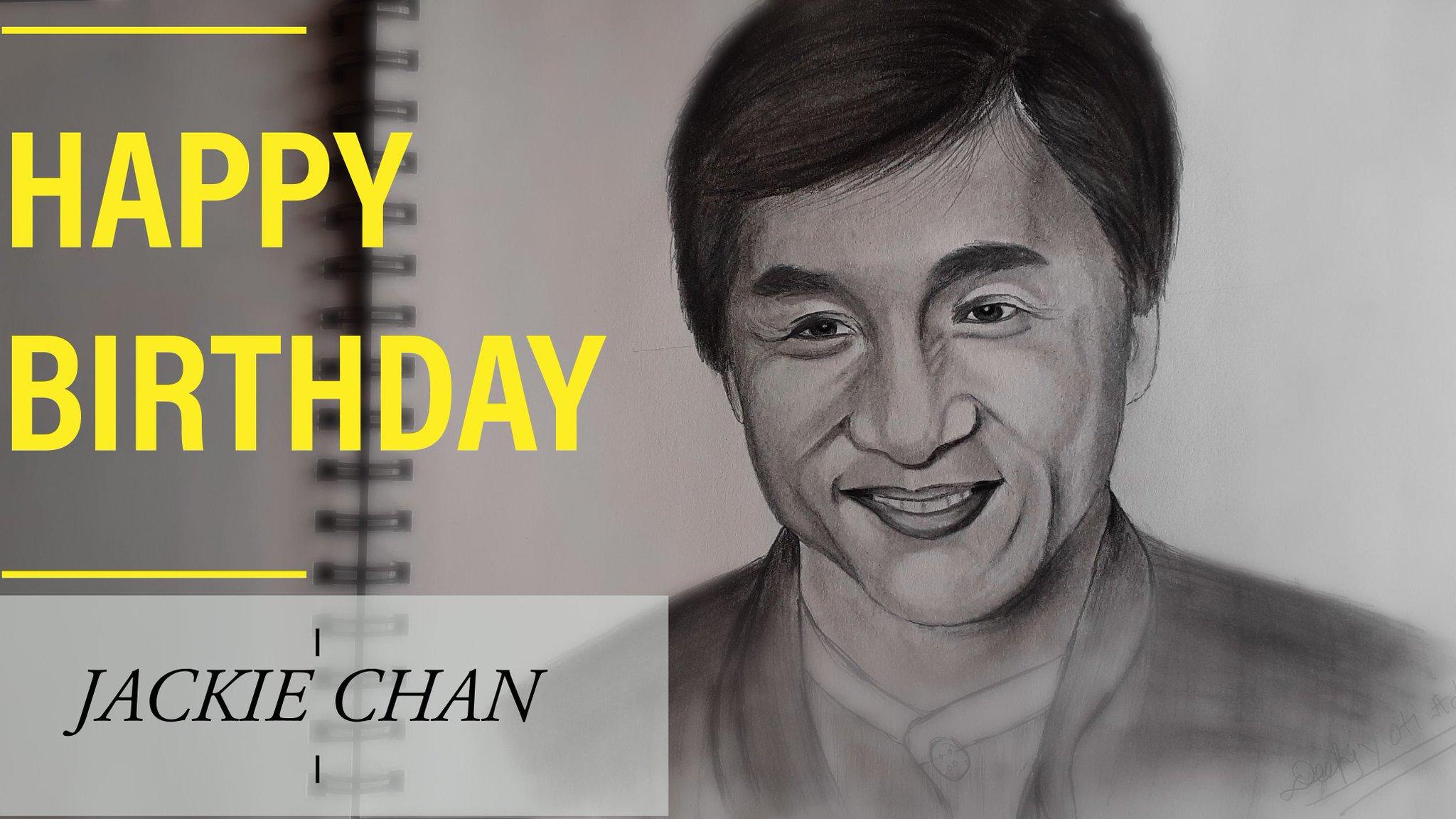 Happy Birthday JACKIE CHAN YouTube video link