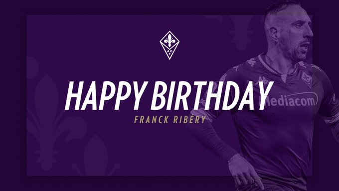 Happy Birthday, Franck Ribery Leave a comment to wish Franck a happy birthday