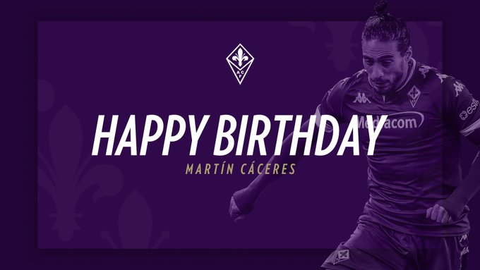 Happy Birthday, Martin Caceres Leave a comment to wish Martin a happy birthday