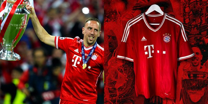 Happy Birthday Franck Ribéry   -