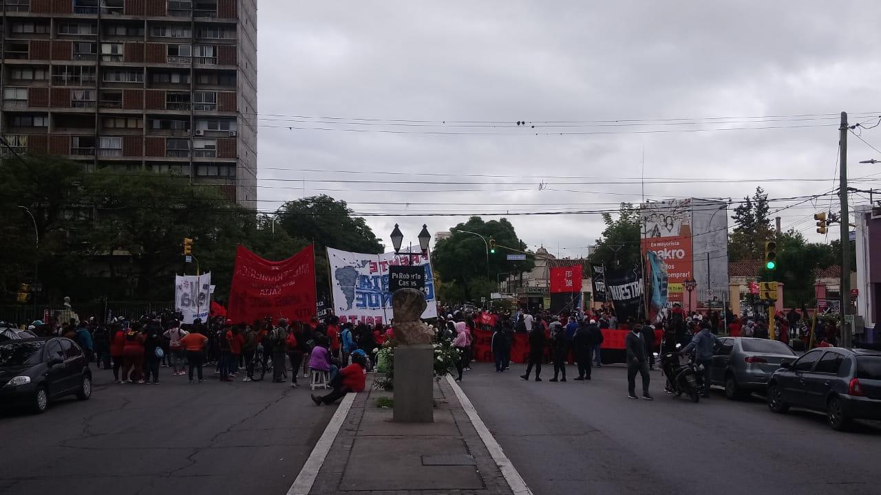 marcha piquetera sociales