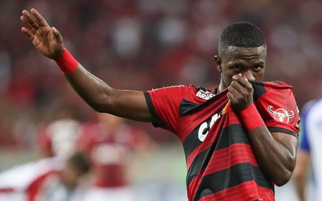 Vinicius Jr at Flamengo