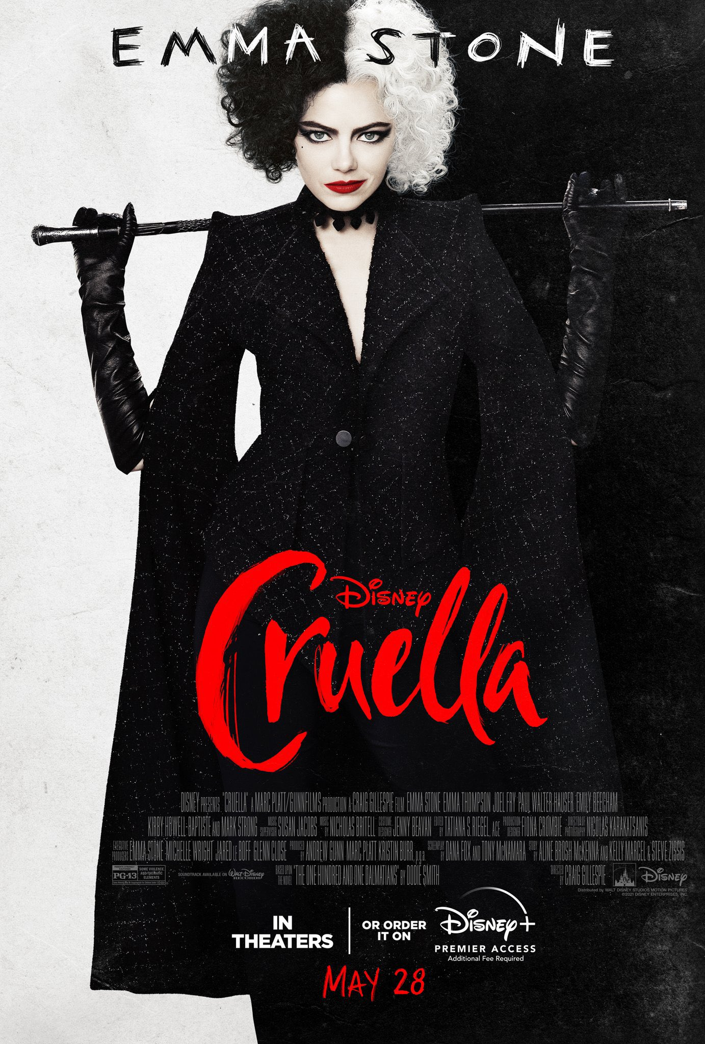 Cruella | Filme estrelado por Emma Stone ganha novo trailer - assista - Cinema com Rapadura