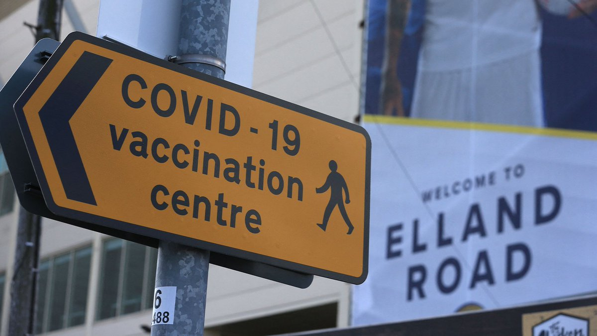 """Leeds United season ticket holder Paul says that if vaccine passports are required for sporting events: """"there's no way on Earth I'll be going back to Elland Road."""" @iancollinsuk"""