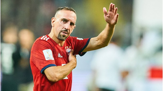 Franck Ribéry turns 38 today!   Happy Birthday!