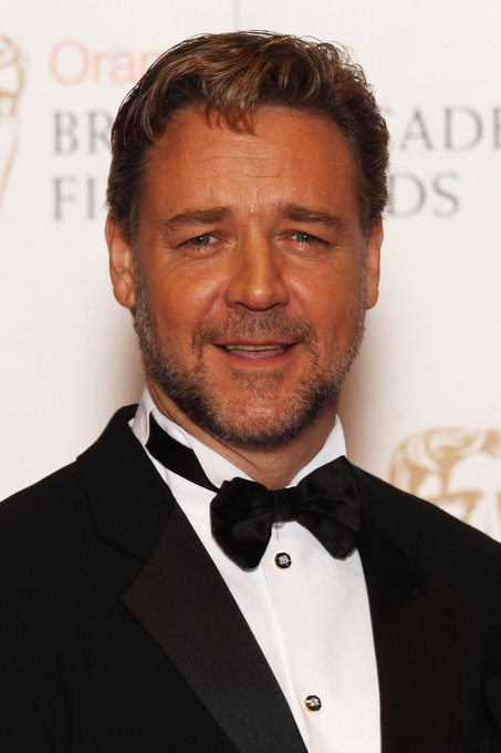 Happy 57th birthday to the actor, film producer, director and musician Russell Crowe