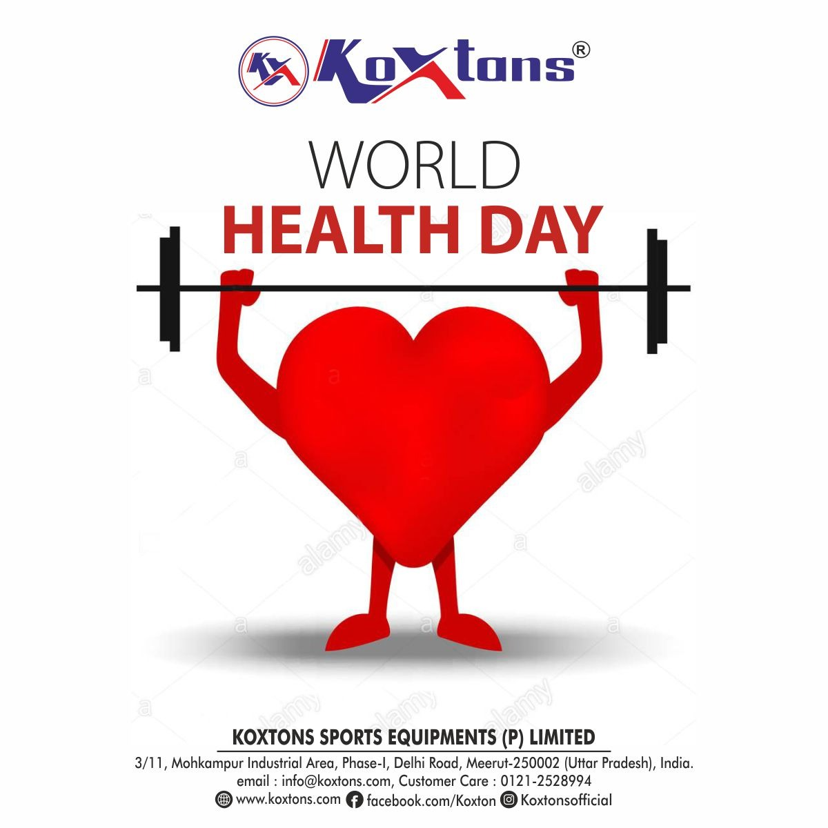 KOXTONS SPORTS wishes you all Happy and Healthy life on World Health Day.  🙏 Get Safety Precautions from COVID-19. Stay Home, Stay Safe. #worldhealthday #health #fitness #healthylifestyle #motivation #wellness #workout #lifestyle #nutrition #exercise #healthyfood #selfcare https://t.co/TjpM48kT5W