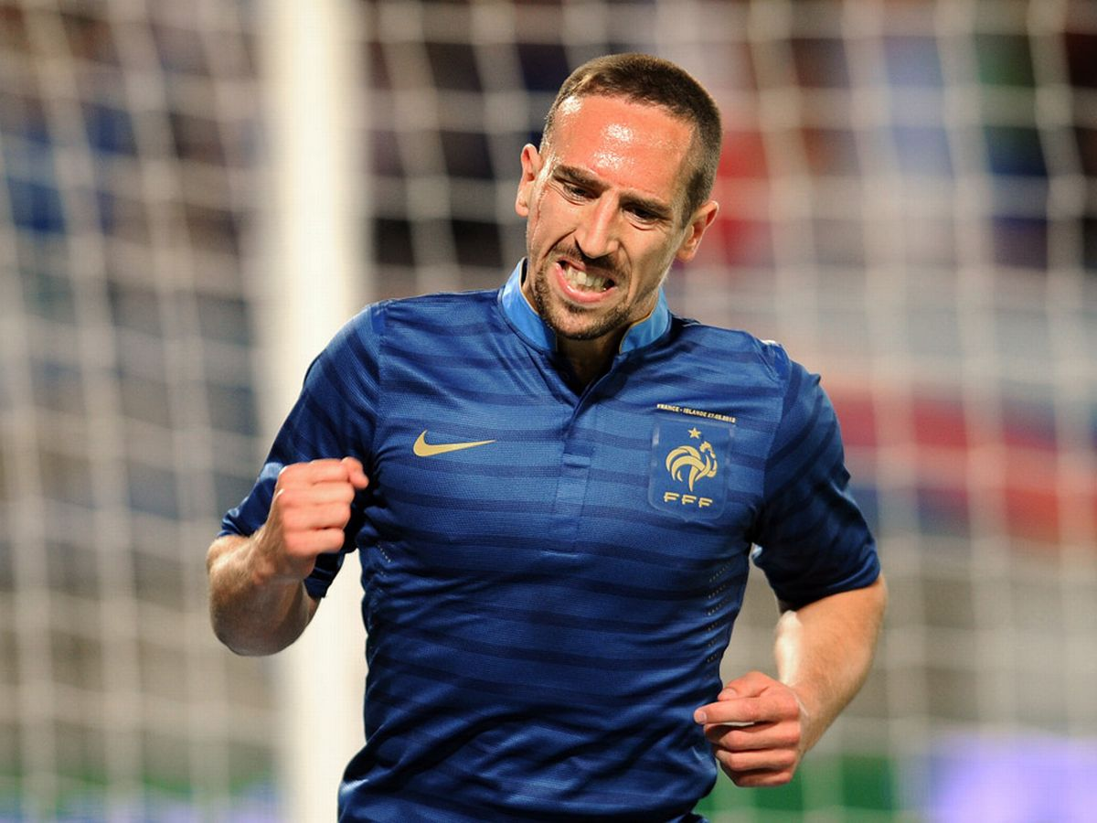 Happy Birthday Franck Ribéry  This France kit was