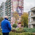 Art by Dutch collective De Strakke Hand in Ouder Amstel, Netherlands (2020)   #destrakkehand #pietmondriaan #ouderamstel #ouderamstelstreetart #streetart #lamolinastreetart   📷 by @robertoosterbroek via https://t.co/fQuSnQ7lo8