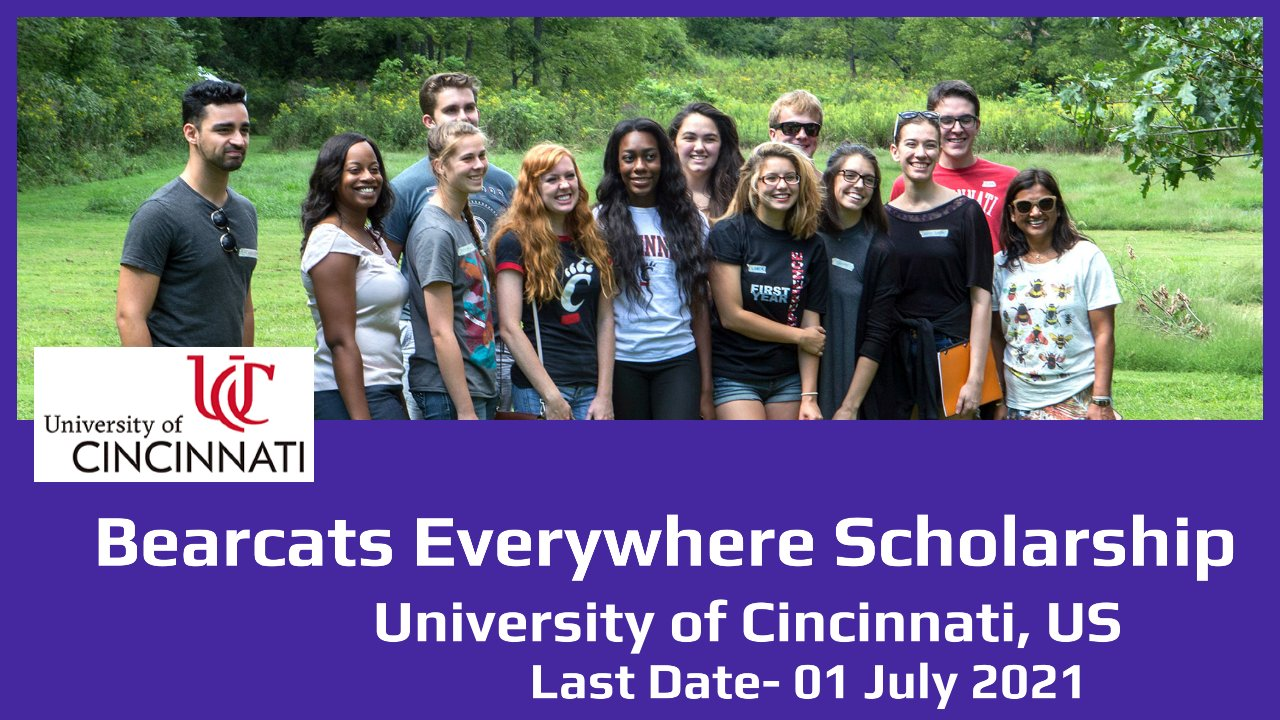Bearcats Everywhere Scholarship by University of Cincinnati, US