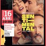 Image for the Tweet beginning: 'Sentimental' és la nova pel·lícula