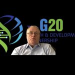 Image for the Tweet beginning: .@G20Partnership's Alan Donnelly talks about