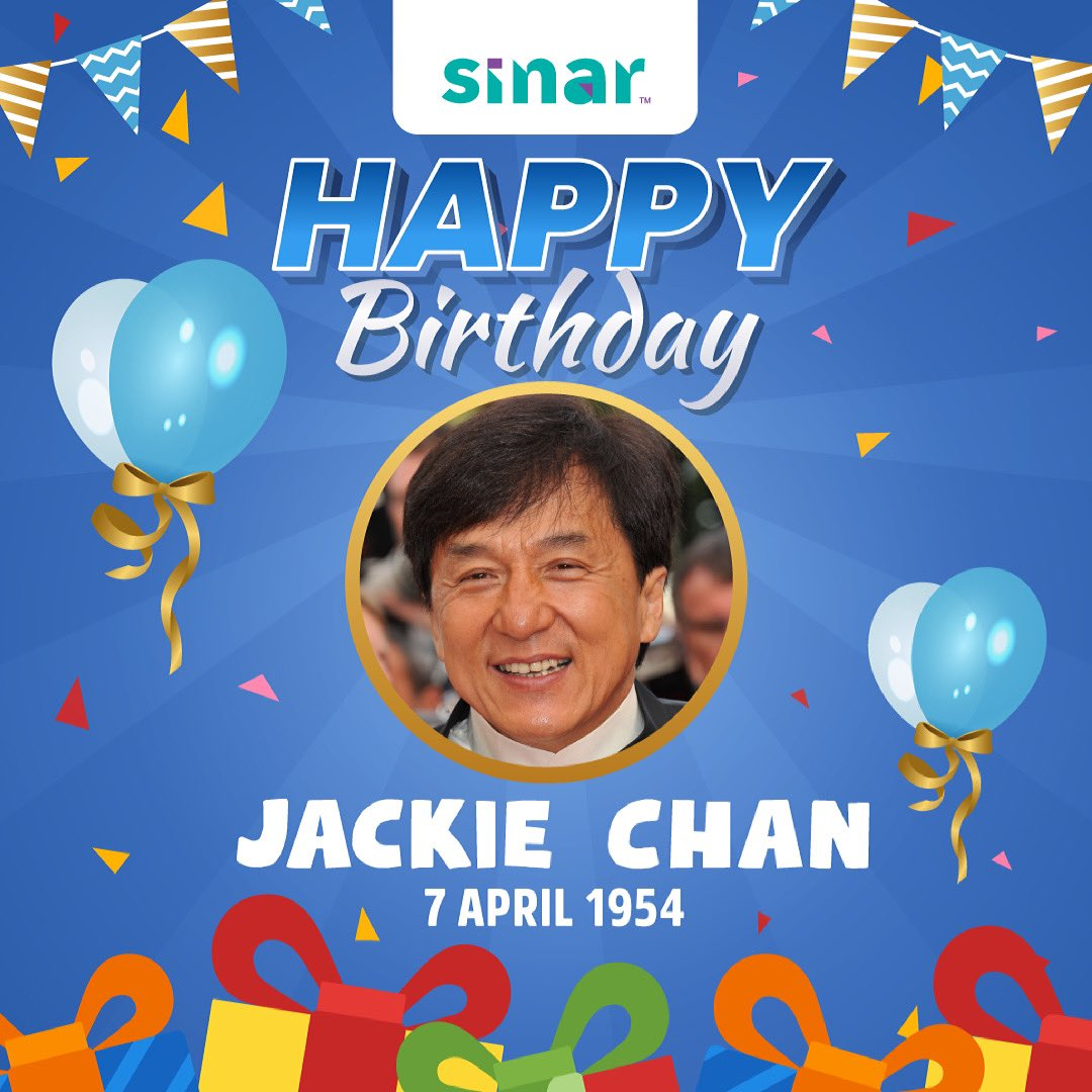 Happy birthday Jackie Chan ! Apa filem lakonan beliau yang anda suka ?