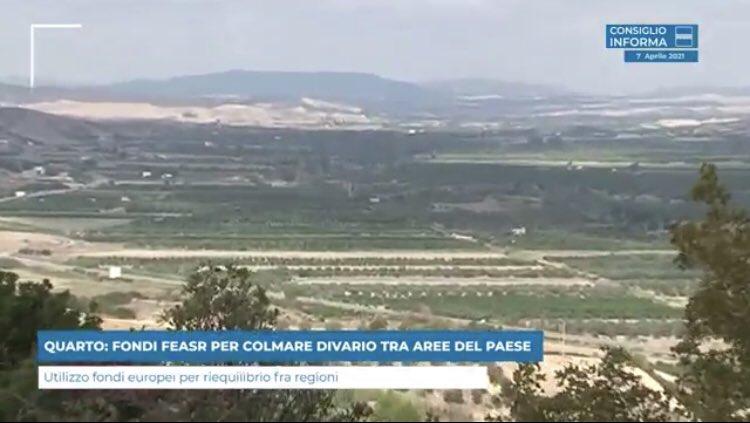 QUARTO: FONDI FEASR PER COLMARE DIVARIO TRA AREE D...