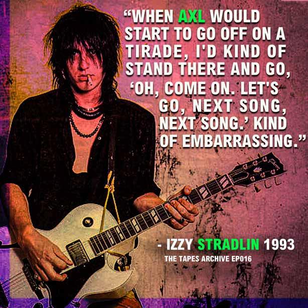 "April 8:Happy 59th birthday to singer Izzy Stradlin (\""Sweet Child O\ Mine\"")"