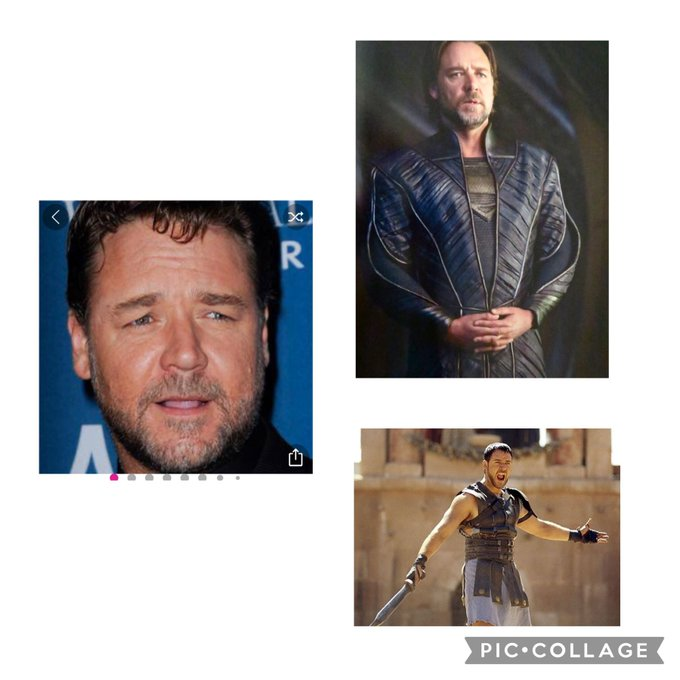 Happy Birthday to one of my favorite actors Russell Crowe.