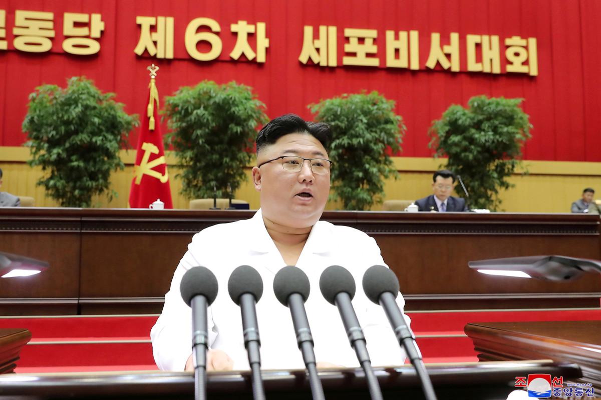 Kim Jong Un admits North Korea faces its 'worst ever situation'