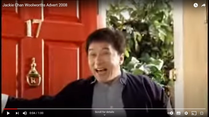 Happy 67th Birthday Jackie Chan. Amazing to see the career revival you\ve had through