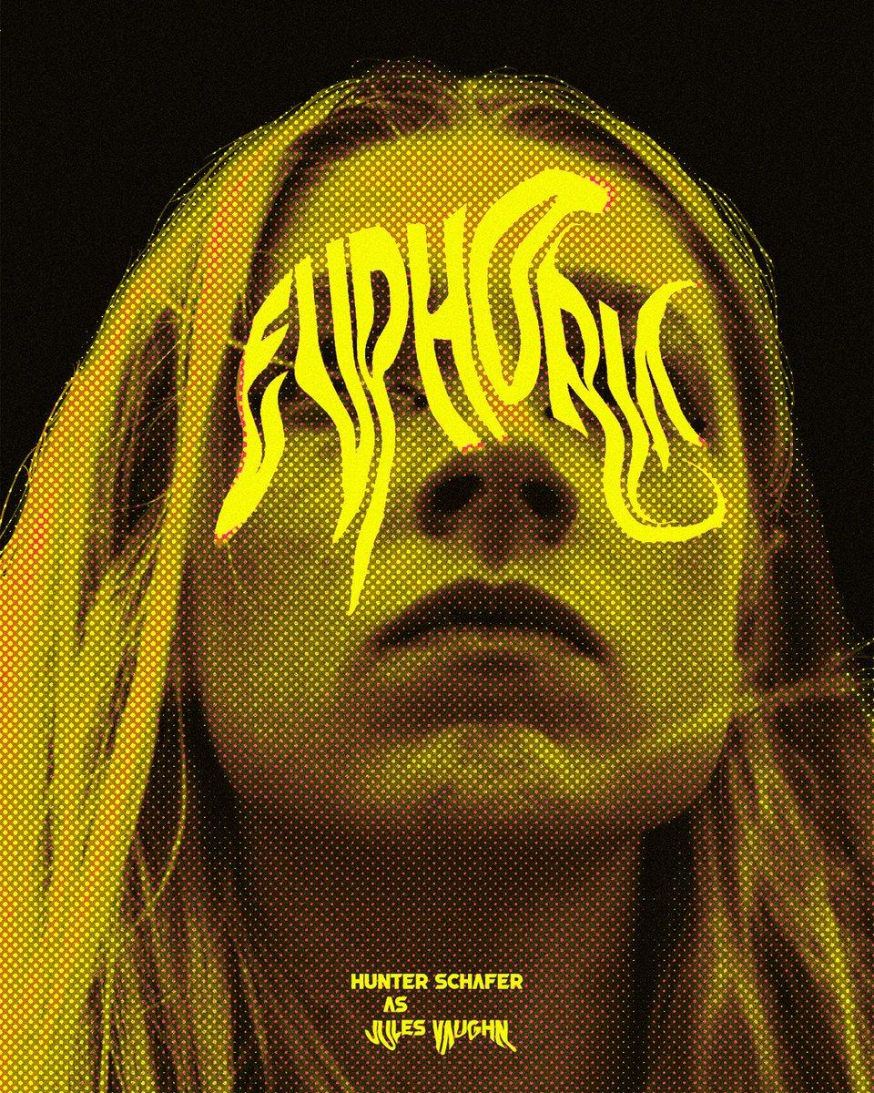 Gros coup de cœur pour ces posters de la série #Euphoria (7,8 sur SC) partagés par @msxak7 : bit.ly/2UdJUWl. 🖤