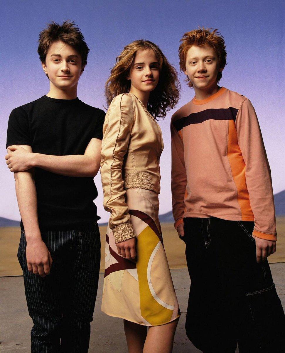 Flashback ⚡ Emma Watson, Daniel Radcliffe et Rupert Grint par Mark Seliger pour Vanity Fair, 2003.