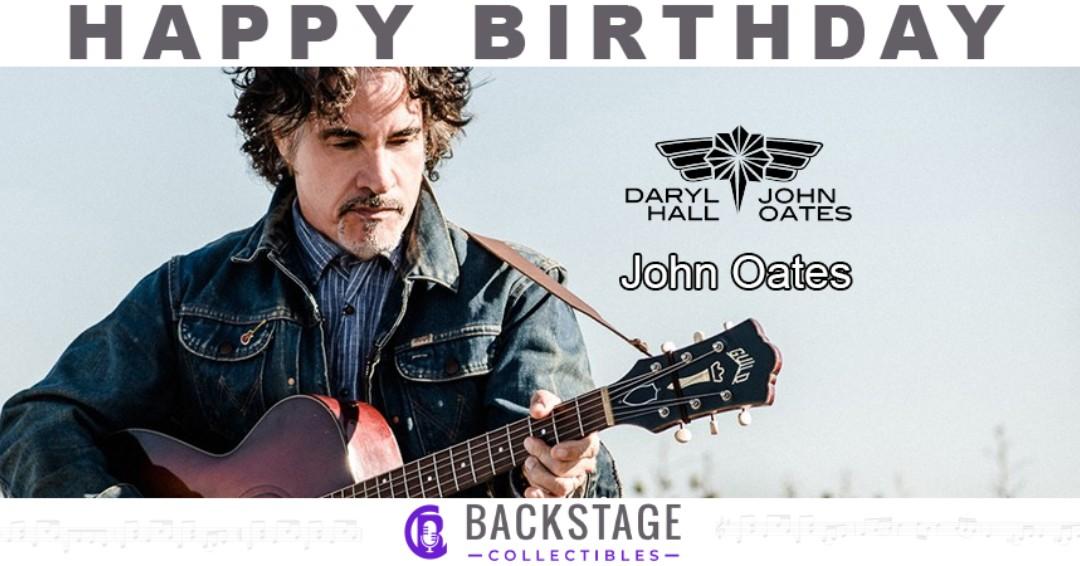 Happy Birthday to John Oates of Hall and Oates!