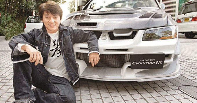Happy Birthday to Jackie Chan.  As a present, I got you sadness about how great Mitsubishi used to be.