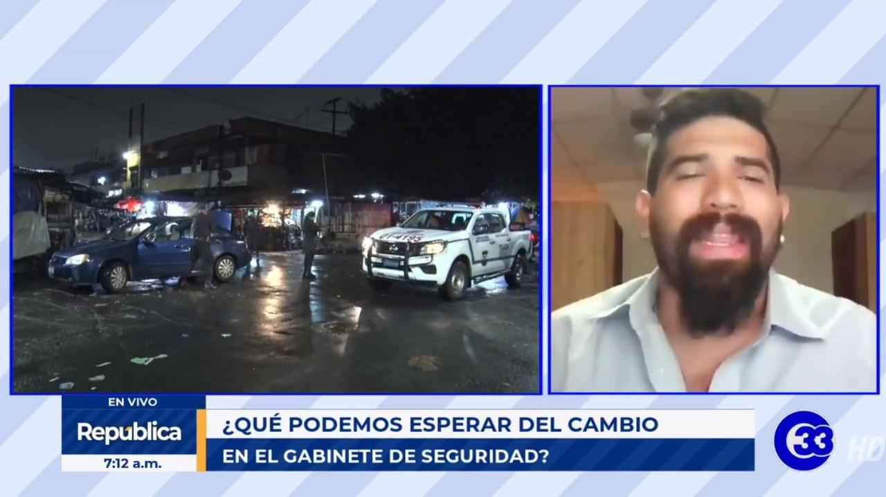 Pandillas han ganado peso político afirma periodista Carlos Martínez