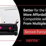 Image for the Tweet beginning: Xerox® Everyday™ Toner is trustworthy,