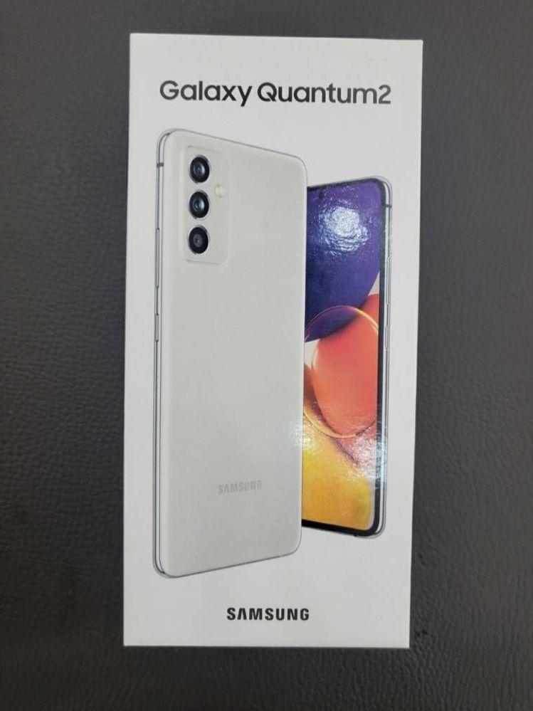 Samsung Galaxy A Quantum 2 Box
