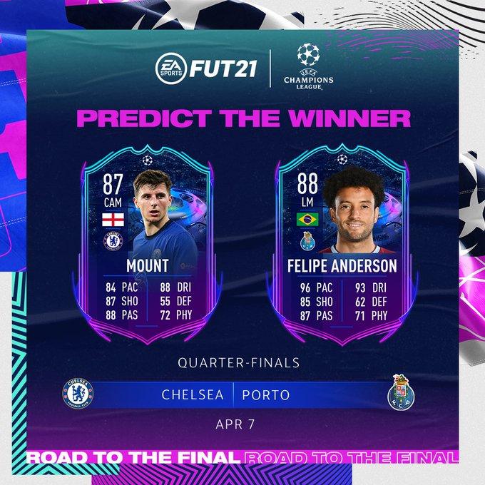 Quem levará a melhor no jogo de ida? 🔮🤔  #UCLPredicts #UCL #FIFA21