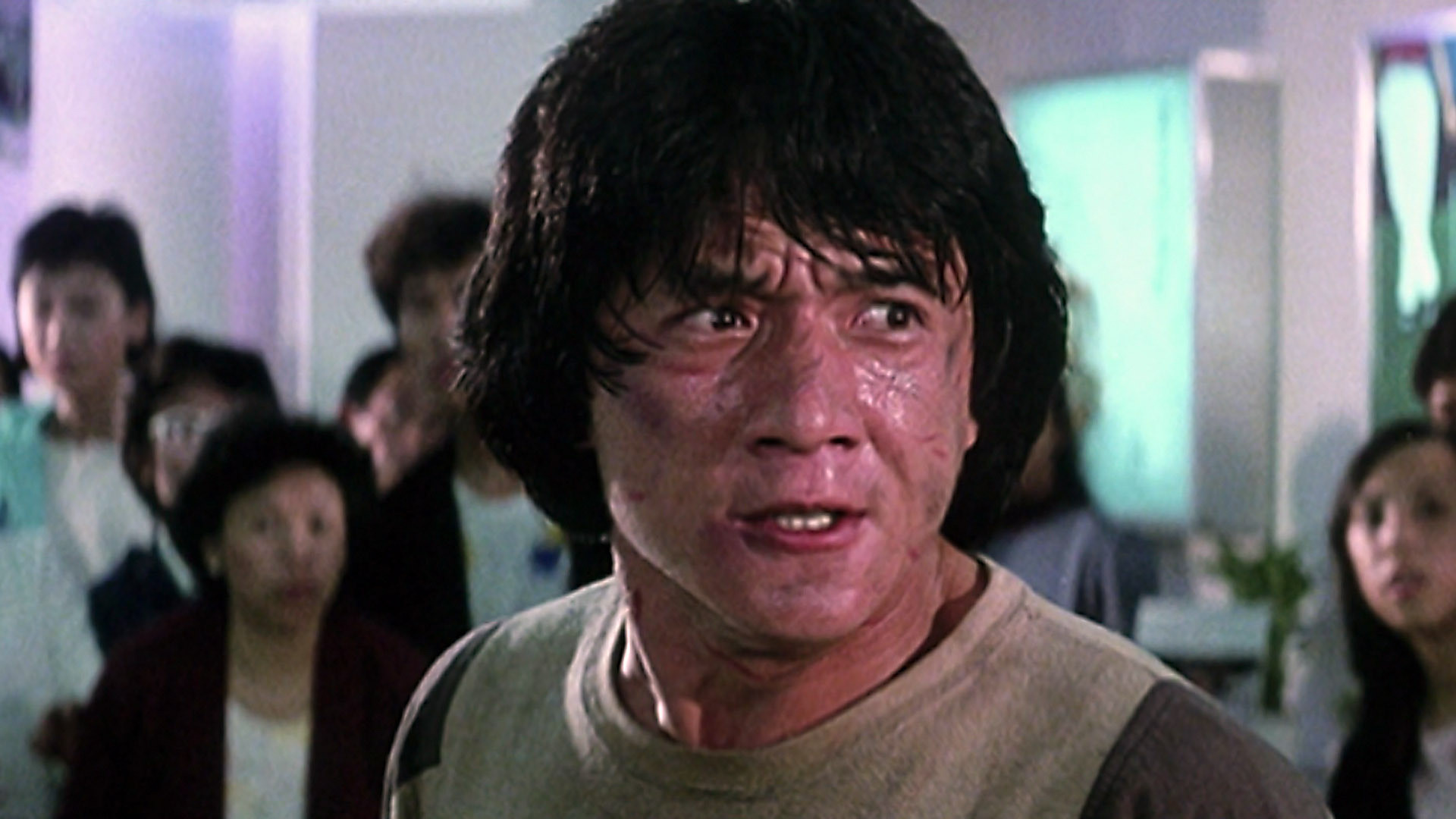 Happy Birthday Jackie Chan, 67 today.  Here below in my favourite film of his, Police Story: