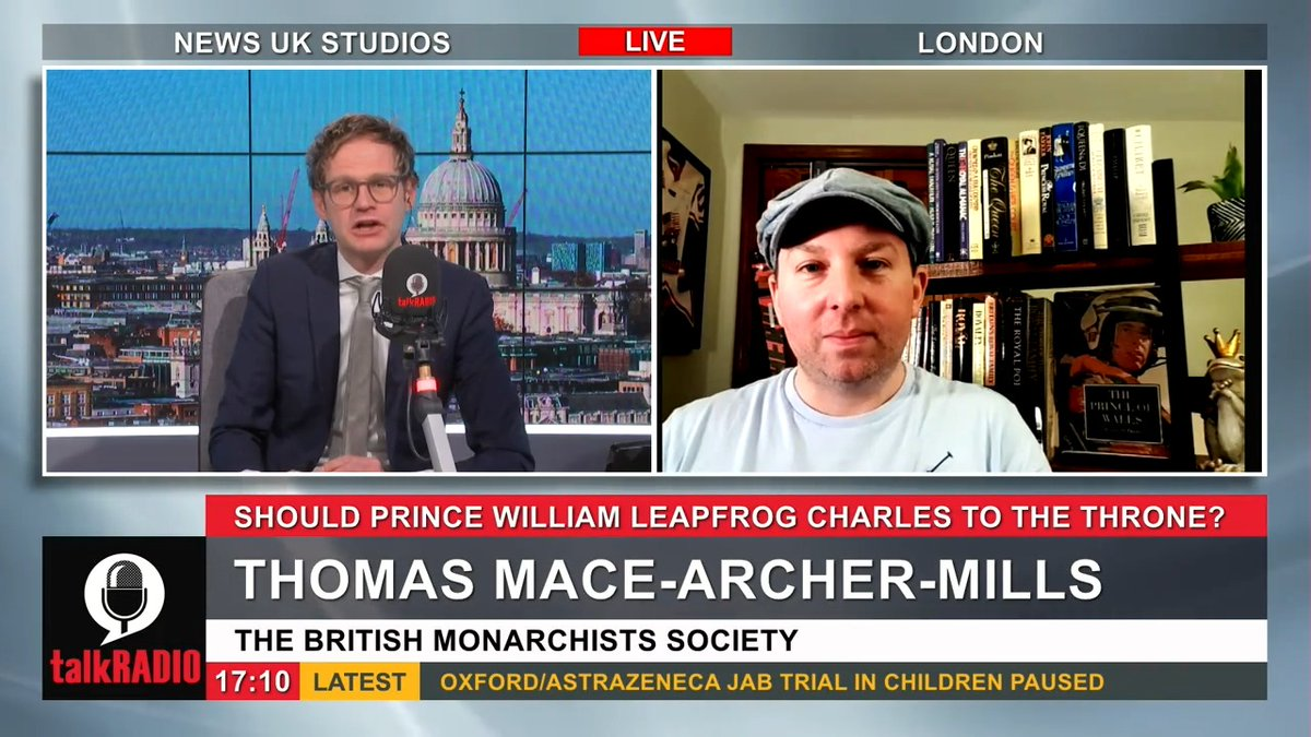 The public want Prince William to leapfrog his father Charles to become the next monarch, according to a new poll. Thomas Mace-Archer-Mills from the British Monarchist Society: The older generation has not forgiven him for divorcing the beautiful lively Diana. @mrmarkdolan