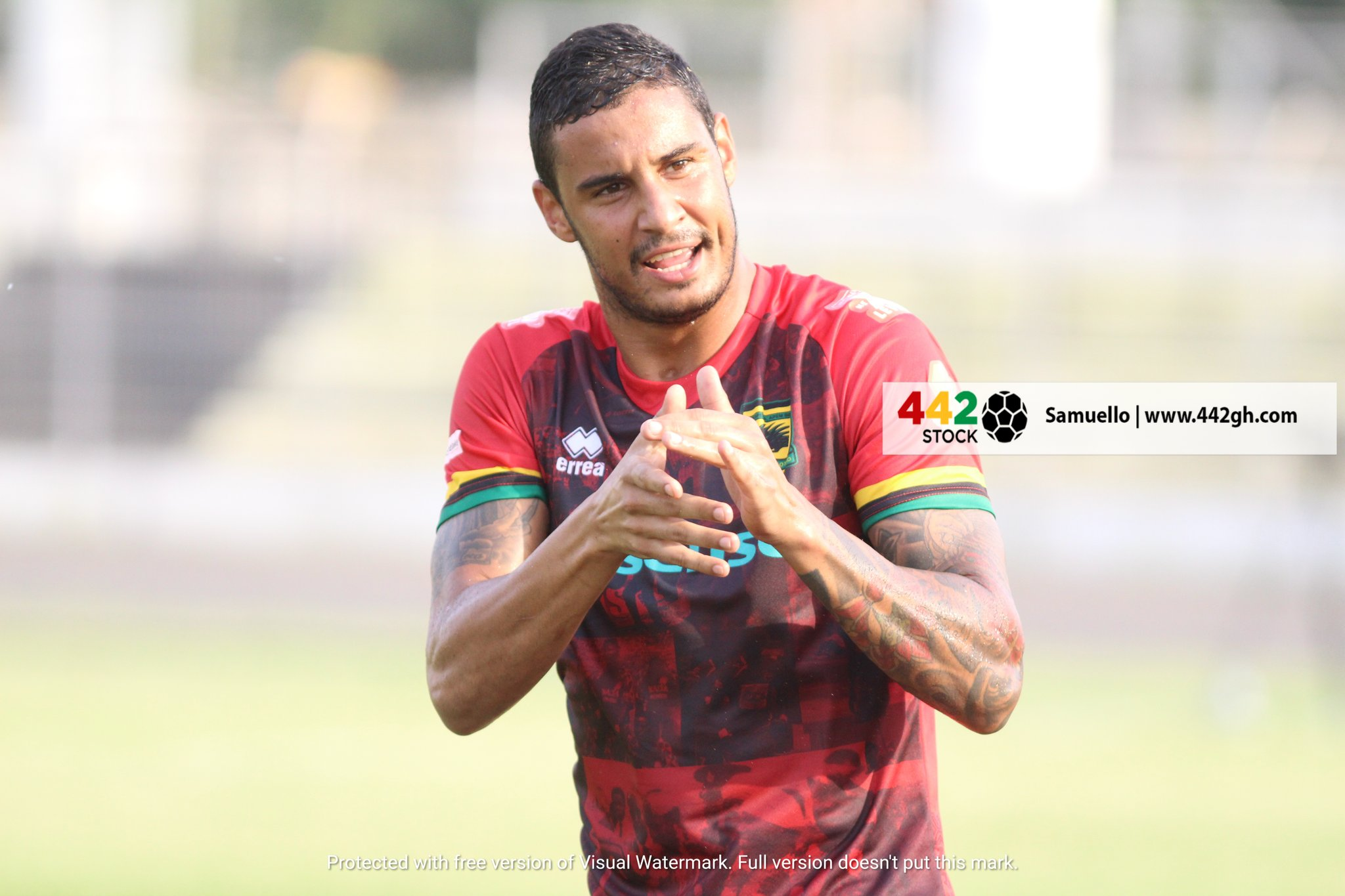 EyYqxI4WYAUvJt9?format=jpg&name=large - PHOTOS: Brazilian Striker Michael Vinicius Scores First Asante Kotoko goal On His Debut game against Bechem United