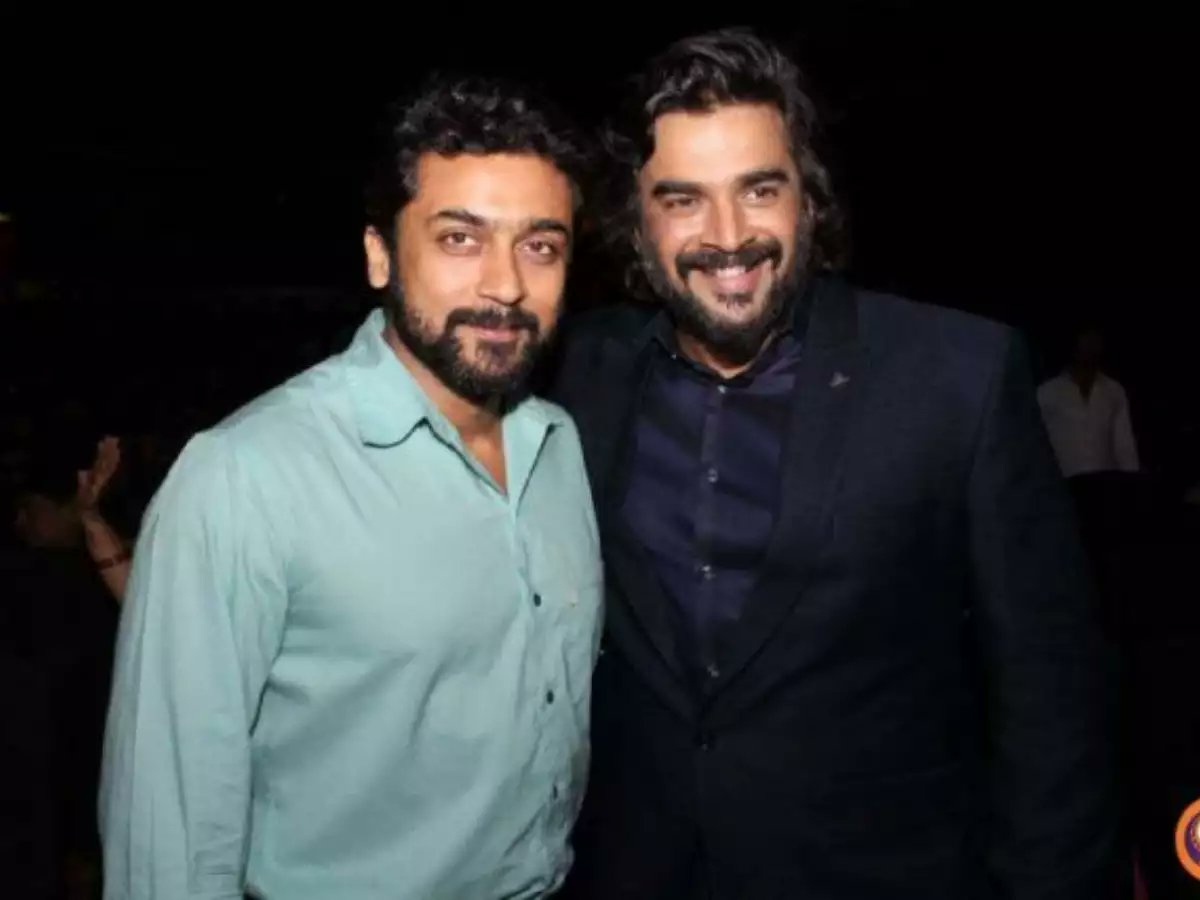 Suriya anna😍 #Suriya40 #VaadiVaasal @Suriya_offl @ActorMadhavan #RocketryTheFilm