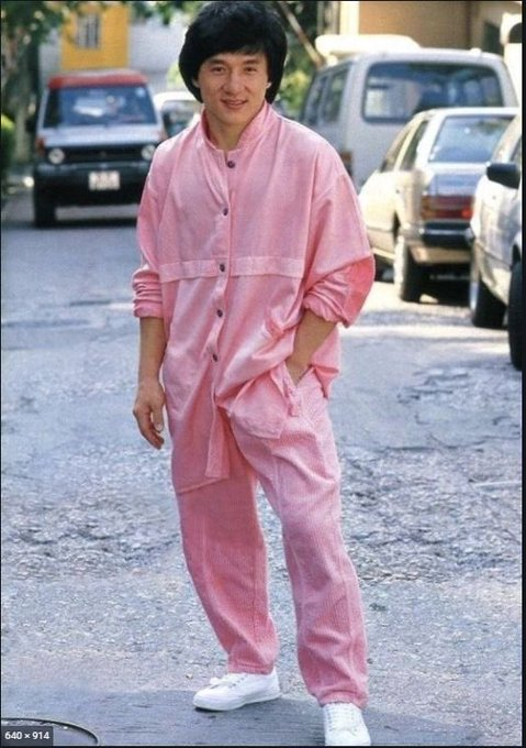 Happy birthday to this fashion ICON, Jackie Chan